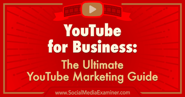 YouTube lets businesses and marketers use video to promote products, tools and services.