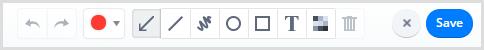 Cloudapp annotation options