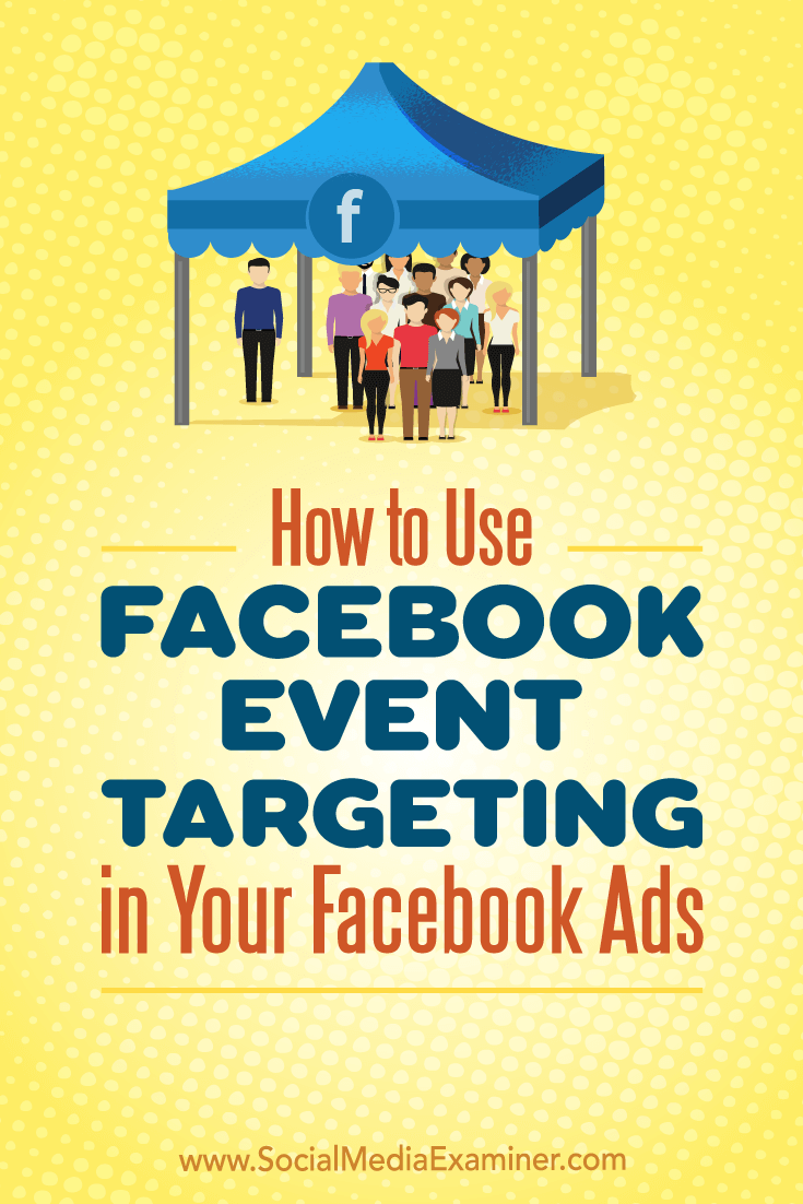 Discover three ways to target audiences using Facebook event engagement custom audiences.