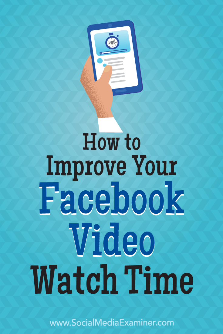 Discover how to set up a Facebook ad campaign that generates longer Facebook video watch times.