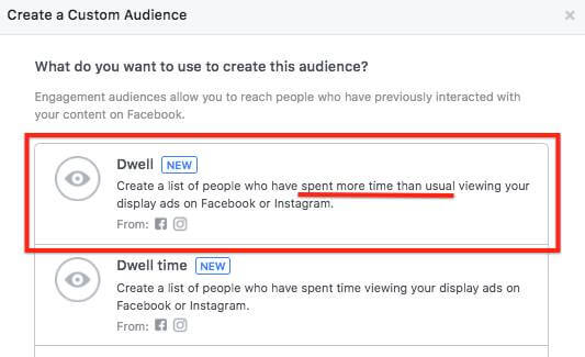 Facebook now lets you target people who spent more time than usual viewing your ads.