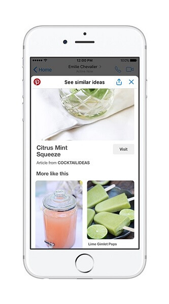 Pinterest's new chat extension for Messenger makes sharing Pins quicker and easier than ever.