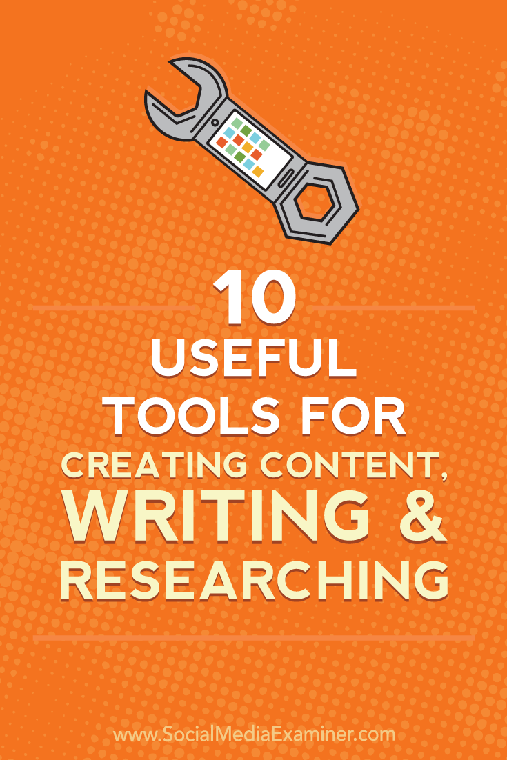 Discover 10 apps and browser extensions to streamline the way you create content, write copy, and organize research.