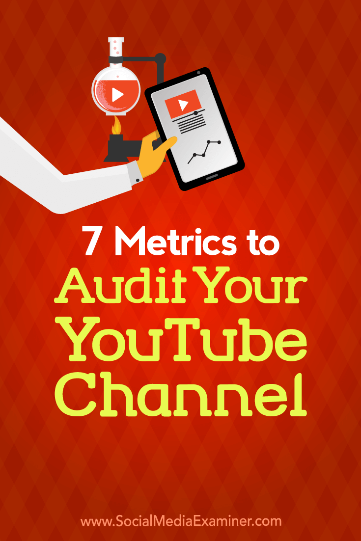 Discover seven metrics to watch when assessing the performance of your YouTube channel.