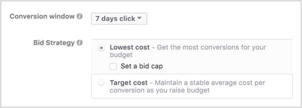 Facebook ads bid strategy