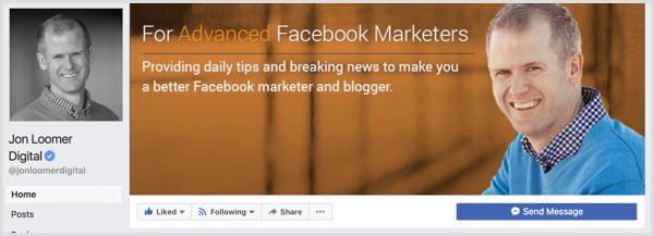 Facebook omslagfoto voorbeeld
