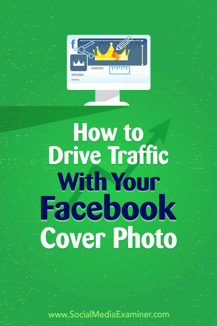 Discover how to use your Facebook cover image to generate clicks that convert into leads.