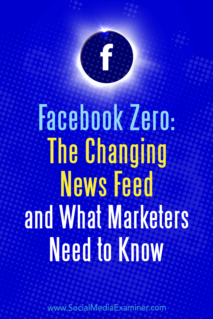 Find out what to expect from the changes and learn how you can best maintain interaction and visibility with audiences on the Facebook news feed.