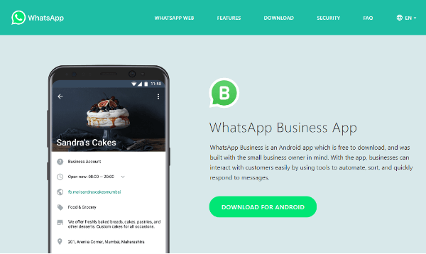 WhatsApp rolled out WhatsApp Business, a new app that will make it easier for companies and customers to connect and chat.