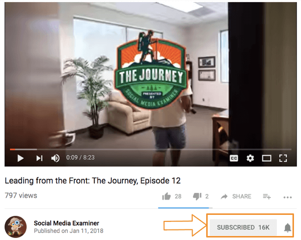 The Journey has over 16k subscribers.