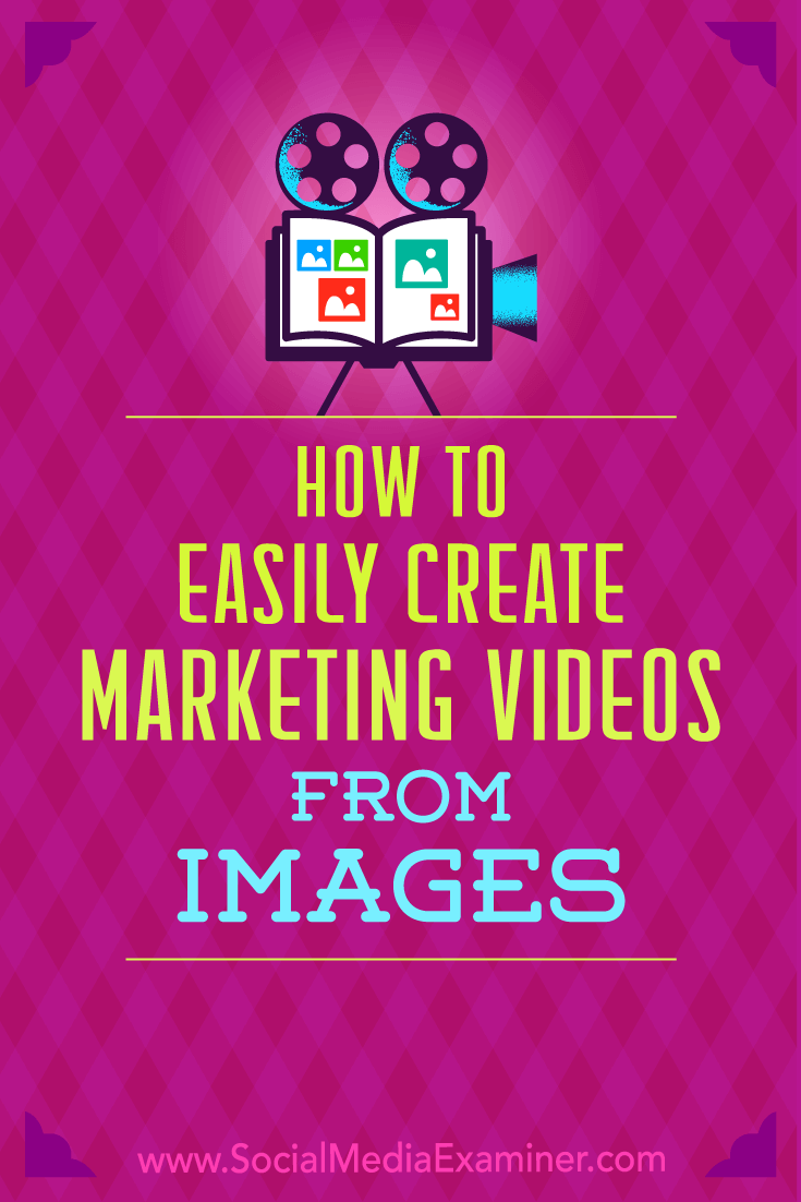 Find two affordable ways to create engaging videos for your business by repurposing visual assets you have on hand.