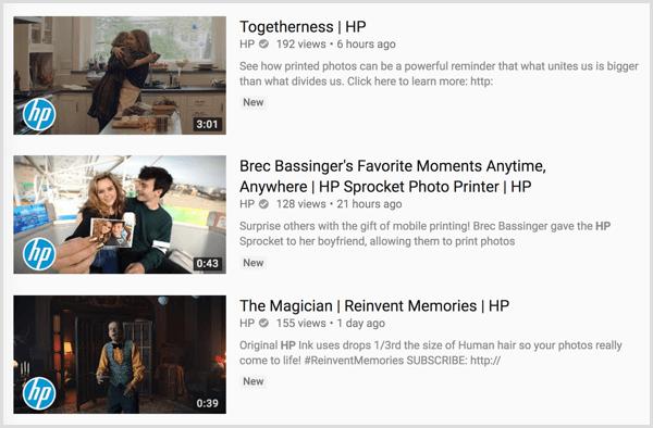 YouTube thumbnail branding
