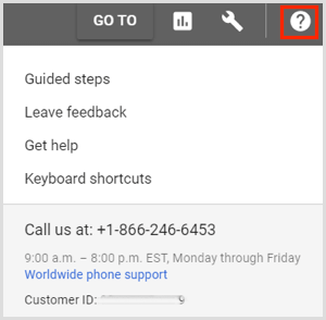 Contact Google AdWords customer support.