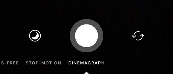Instagram is testing a new Cinemagraph feature in the camera.