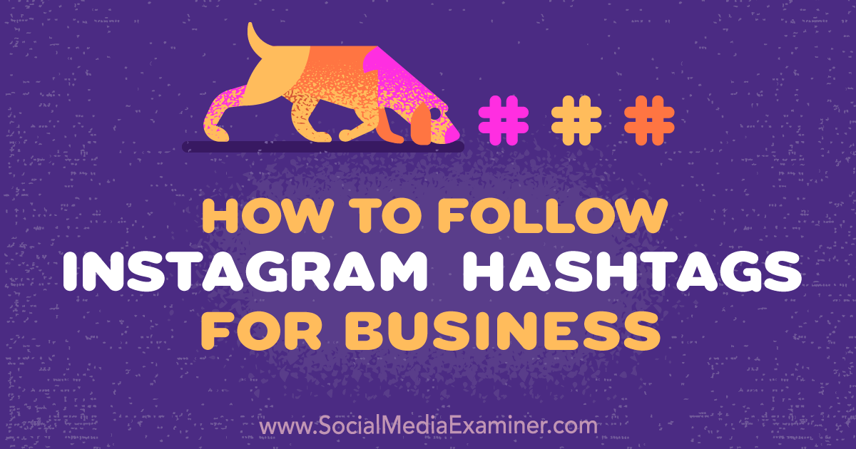 how to use hashtags on instagram for business