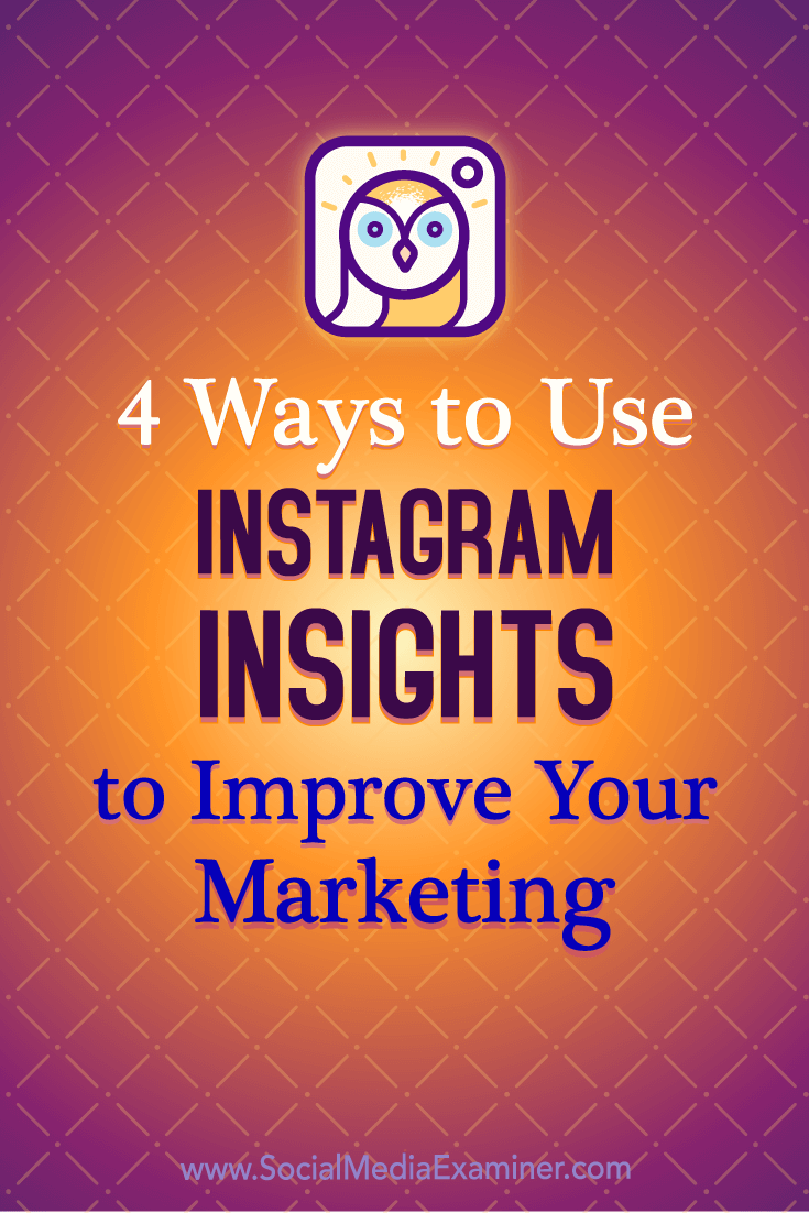 Discover how to use Instagram Insights to evaluate your followers, posts, stories, and promotions.