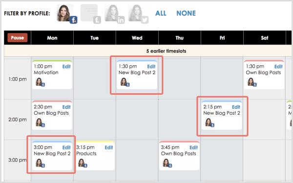 smarterqueue calendar