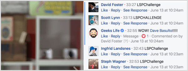 Facebook Live video bot for notifications