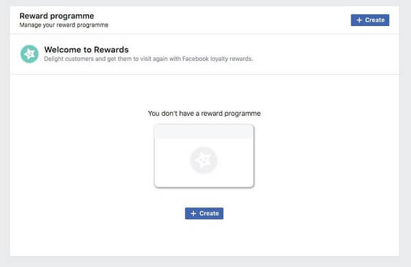 Facebook appears to be testing a Rewards programs feature for Pages.