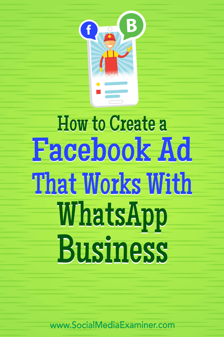 Discover how to set up a WhatsApp Business account and use Facebook ads to let WhatsApp users call or message your customer support team.