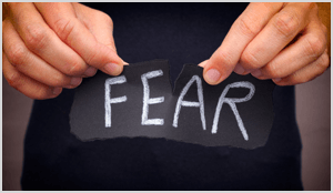 Face your fears to work through marketing yourself.