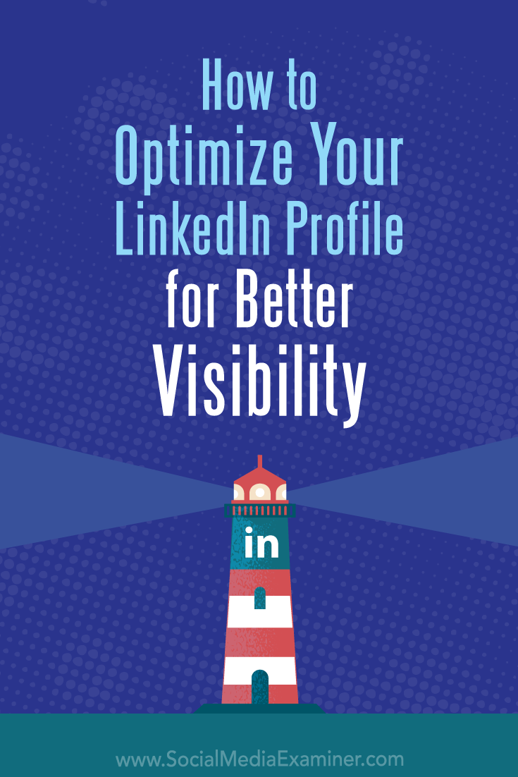Discover 4 tips that show how to use your LinkedIn profile to make a strong first impression with prospects and connections searching for your specialty.