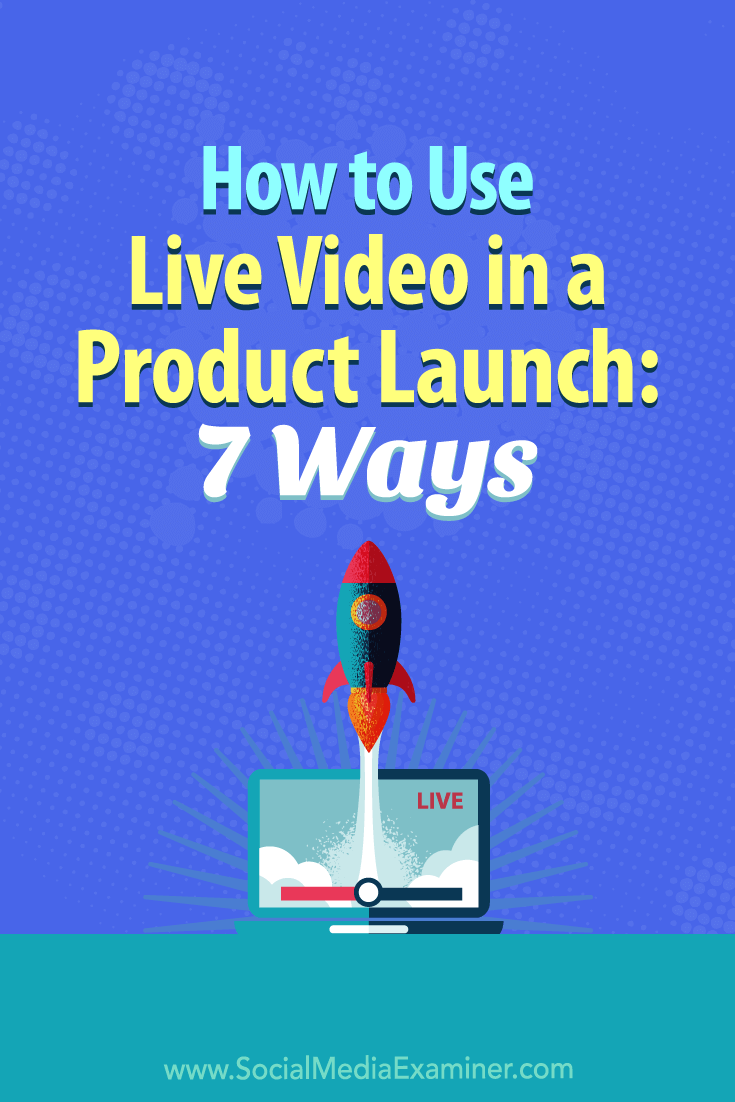 Discover seven live video tactics that will create a warm and engaged audience for your next launch.