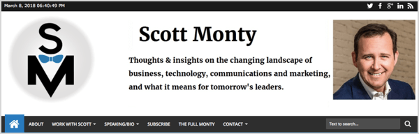 Scott Monty's personal brand has stayed with him.