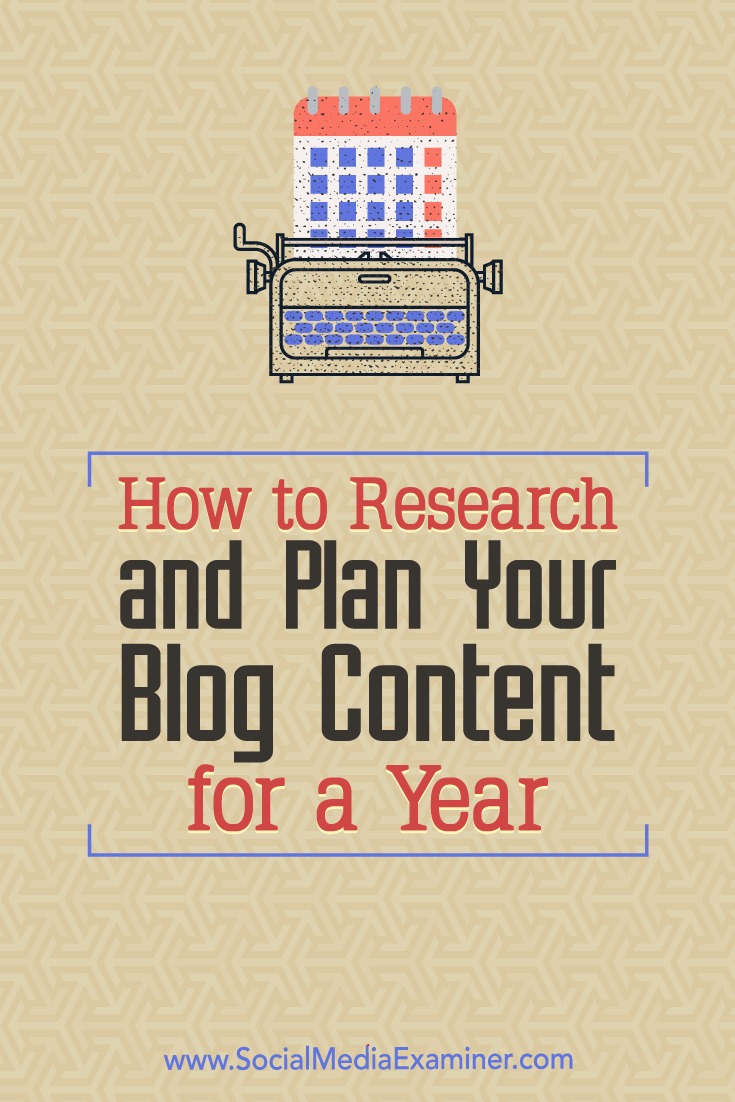 Discover how to use your blog's editorial calendar to plan and publish strategic content on a consistent schedule.