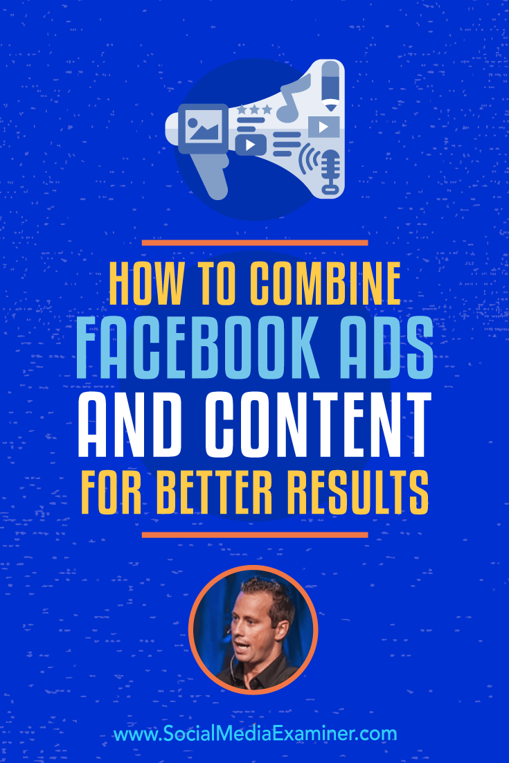 Social Media Marketing Podcast 296. In this episode, explore strategic ways to combine content and Facebook ads with Keith Krance.