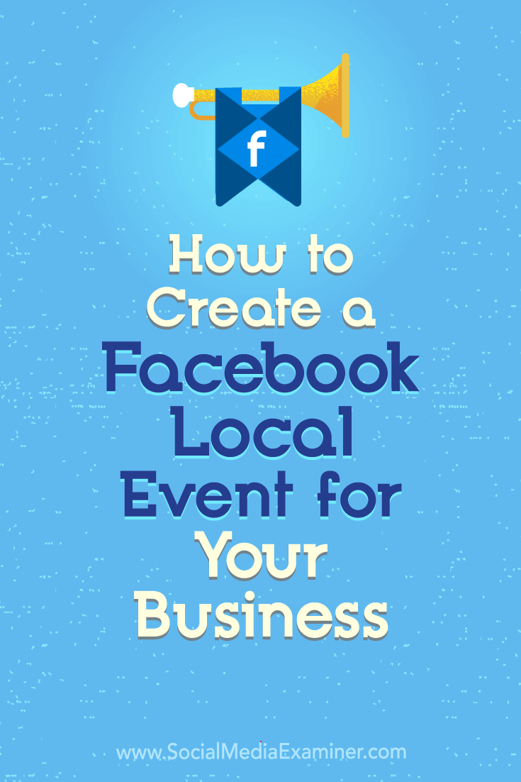 Discover how to use Facebook Local to create events that drive in-store foot traffic.