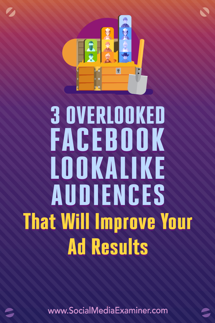 Discover how to create three highly tuned Facebook lookalike audiences from your most valuable custom audiences.