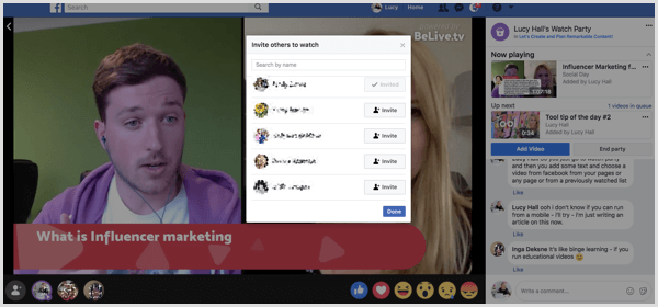 How to Host a Facebook Watch Party in Your Facebook Group : Social