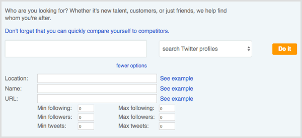 Followerwonk Search Bios results More Options