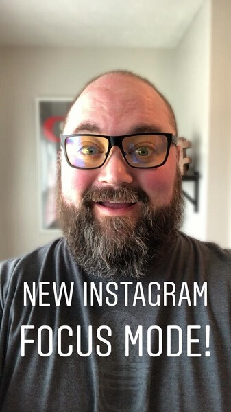 Instagram is rolling out Focus, a portrait mode feature that blurs the background while keeping your face sharp for a stylized, professional photography look.