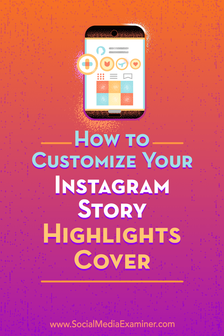 Discover how to change your Instagram story highlights covers from the default view to a branded cover image.