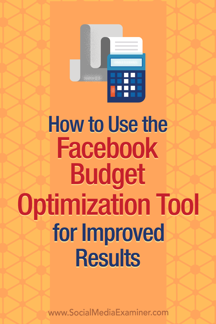 Discover how to use the Facebook Budget Optimization tool to automatically optimize your budget distribution across ad sets.