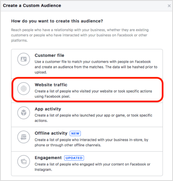 7 Ways to Target Website Visitors With Facebook Custom