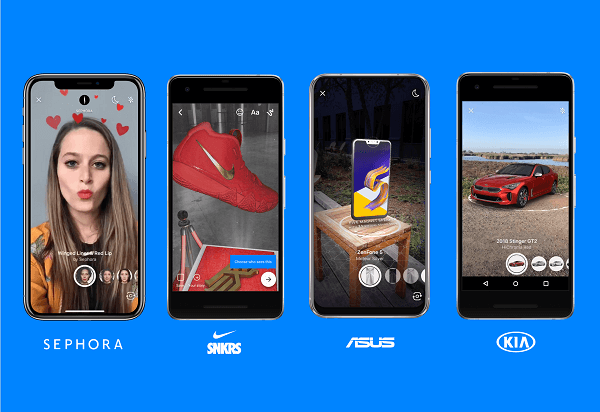 Facebook rolled out three new products for Messenger: AR for the Messenger Platform, a new integration for built-in NLP, and M suggestions for translations.