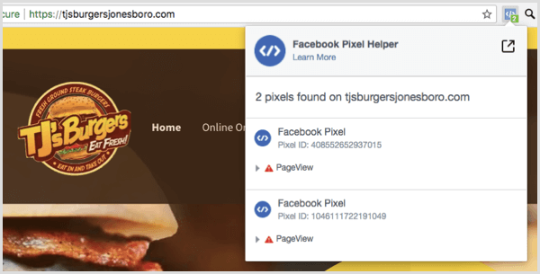 Use the Facebook Pixel Helper extension to see whether your pixel is working.