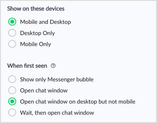 ManyChat Show on These Devices