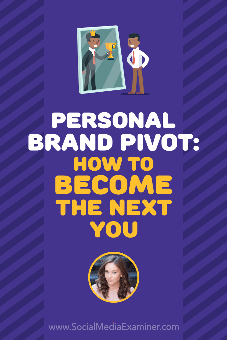 Social Media Marketing Podcast 304. In this episode, explore how to pivot your personal brand with Amy Landino.