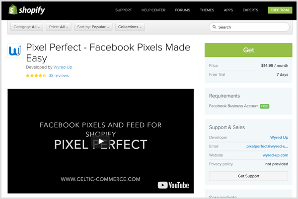 Pixel Perfect plugin page