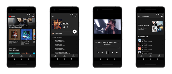 YouTube introduced a new music streaming service called YouTube Music.