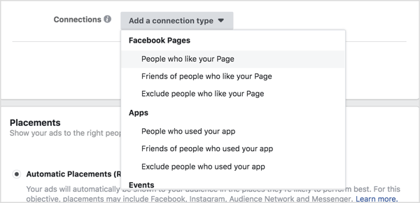Target most likely existing customers, friends of most likely existing customers, and even people who don't like your page