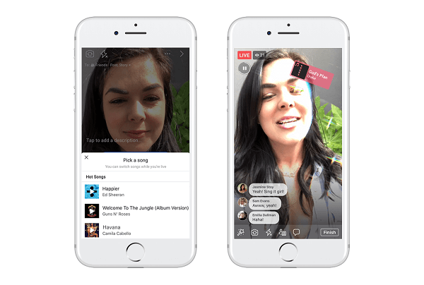 Facebook is testing Lip Sync Live, a new feature designed to let users pick a popular song and pretend to sing it on a Facebook Live broadcast.
