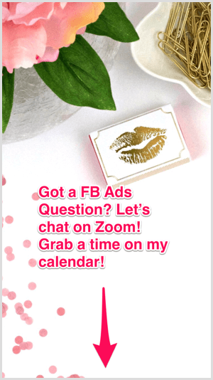 Instagram story ad ask