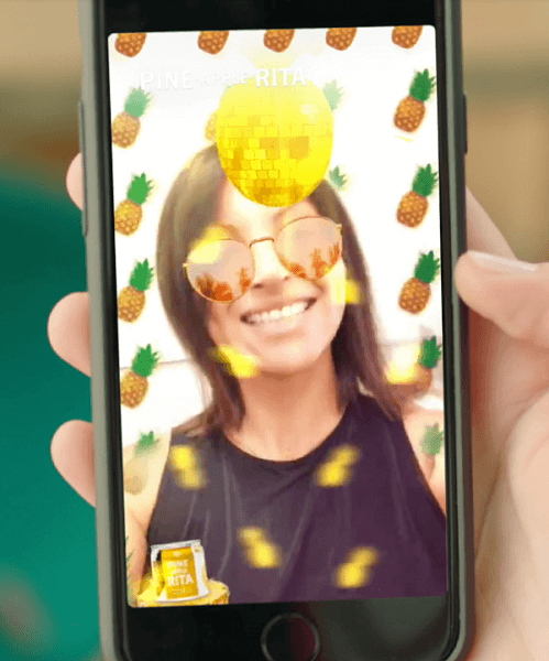 Advertisers can now run and manages their own AR advertising campaigns along with Snap Ads, Story Ads, and Filters from directly within Snapchat's self-serve tool.