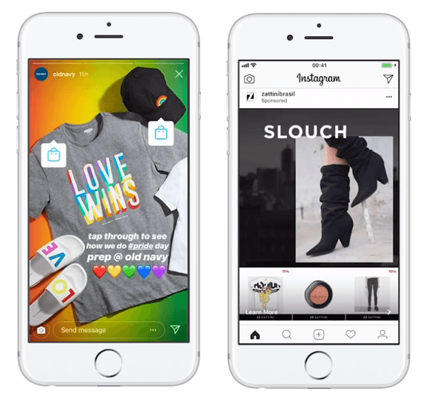 Facebook expands efforts to reach shoppers seamlessly on Instagram with shopping tags and its collection ad formats.