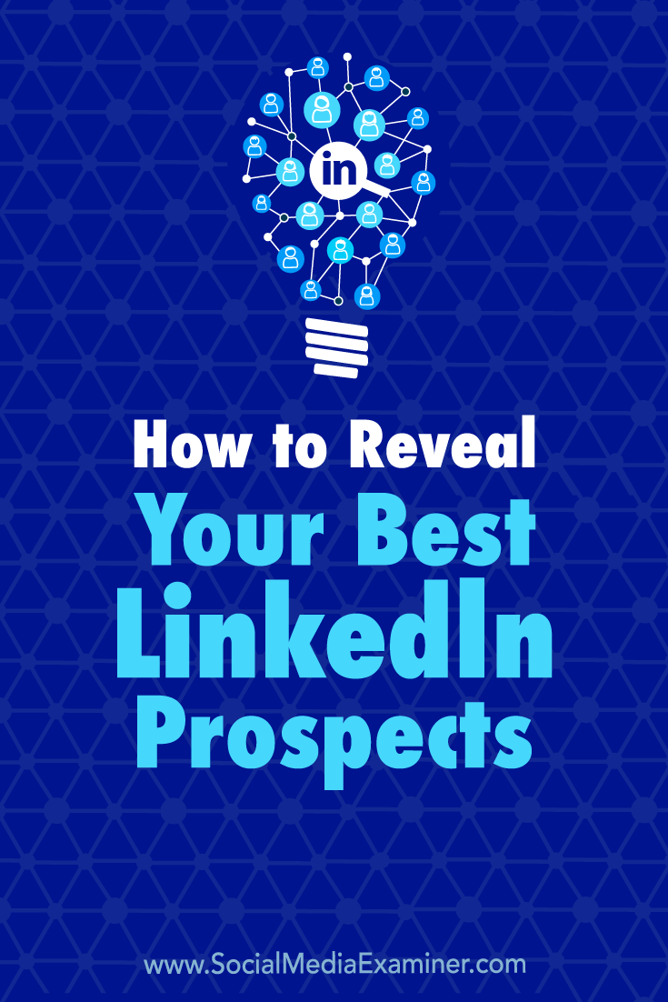 Learn how to use Boolean search with LinkedIn's Advanced People Search to reveal your perfect prospects.